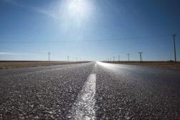 open road flat highway