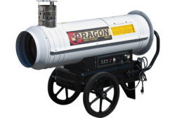 dri eaz mobile heater dragon x2
