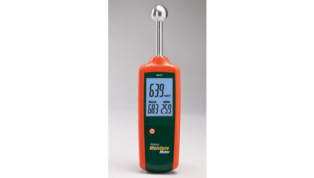 moisture meter read out led orange