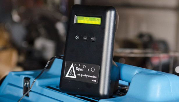 dylos air quality monitor