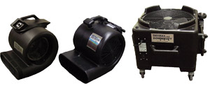 velocity air movers cti dry max