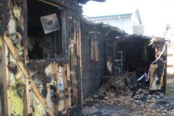 fire damage house kitchen