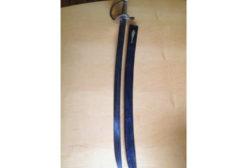 1800s sword found