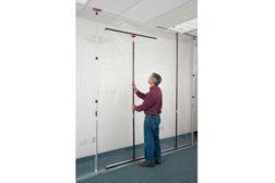zip rail zip wall dust tight seal