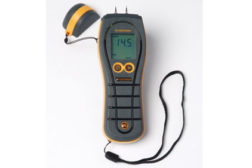 Dual-function moisture meter