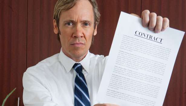 cross examination contracts