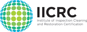 iicrc logo inspection cleaning certification