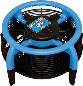 dri pod flood dryer
