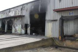 carpet factory fire