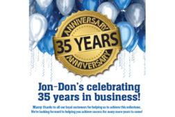 Jon Don Anniversary