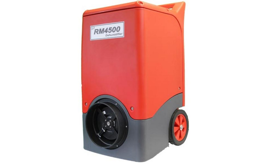 RM4500/H, E, and E+ model dehumidifiers