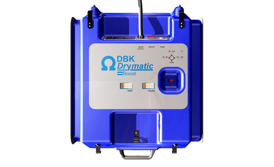 The Drymatic Boost Box Reduces Drying Time