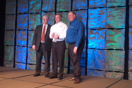 J Murphy receives sales award