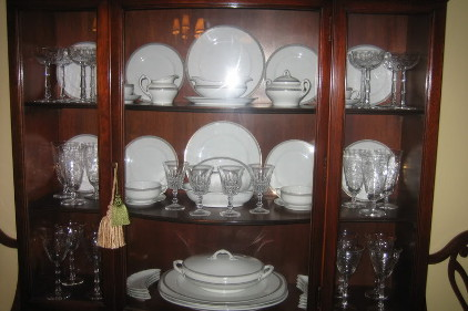fine china contents