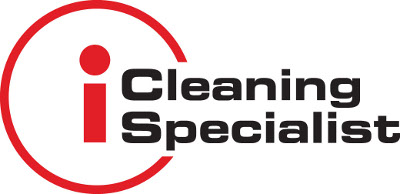 i cleaning specialist red logo