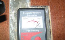 concrete drying