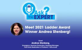Meet 2021 Ladder Award Winner Andrea Stenberg