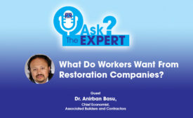 What Do Workers Want from Restoration Companies?