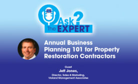 Annual Business Planning 101 for Property Restoration Contractors
