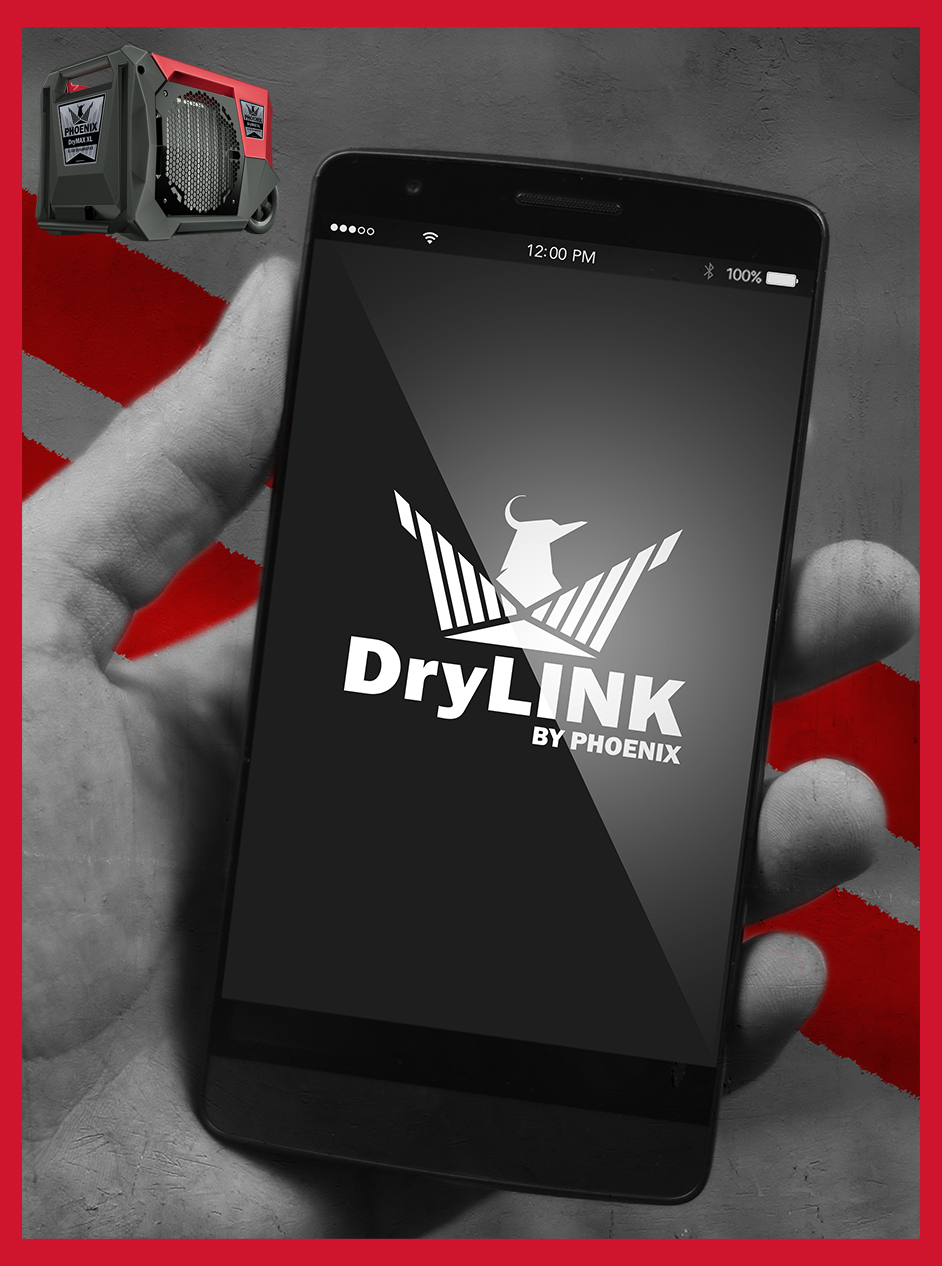 BE EVERYWHERE AT ONCE with DryLINK by Phoenix